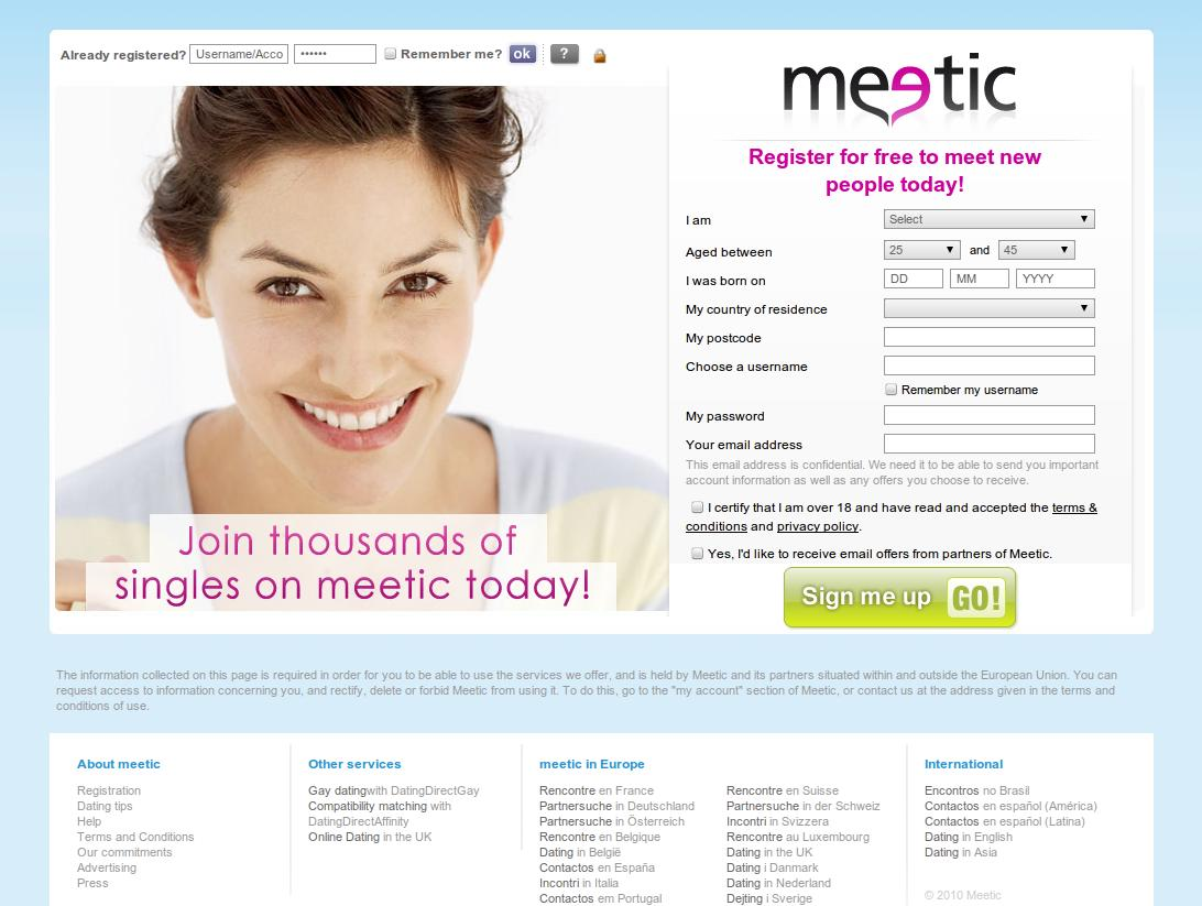 Site de rencontre meetic arabic